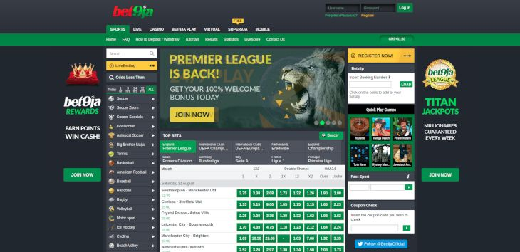 The best betting sites in Nigeria to bet on mobile phone – 2019